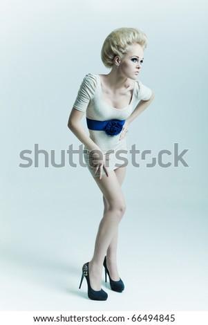 Fashion Blond - stock photo