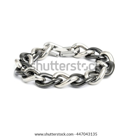 Fashion Bracelet isolated on white