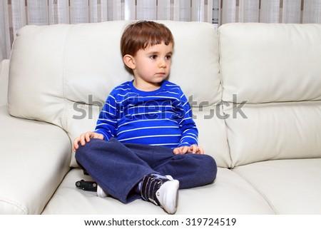 fashion child photo, fashion boy - stock photo