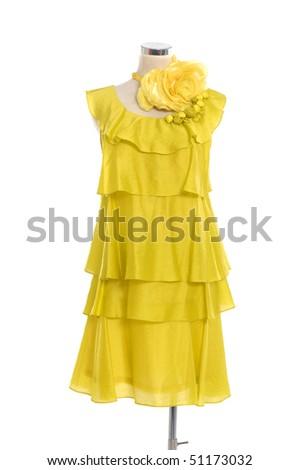 Fashion clothing on mannequin - stock photo