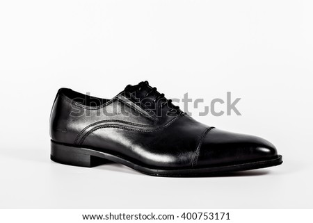 Fashion concept with male shoes