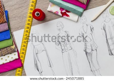 Fashion Design - stock photo
