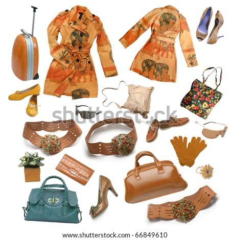 fashion dress - stock photo