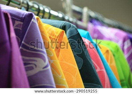 fashion for color shirt