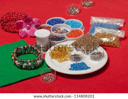 fashion jewelry - stock photo