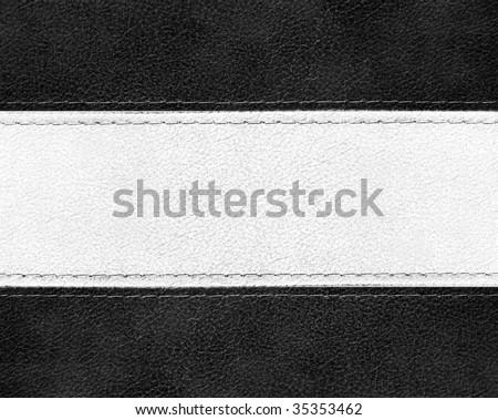 fashion leather background - stock photo