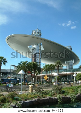 Fashion Mall in Las Veags in Front of the Wynn Hotel - stock photo
