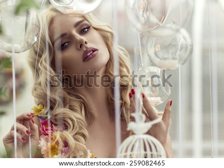 Fashion portrait  - stock photo