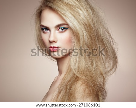 Blonde Girl Hairstyle : Blonde hair stock images royalty free & vectors shutterstock