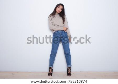 Asian Girls In High Heels