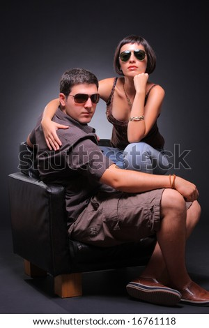 Fashion shot - stock photo