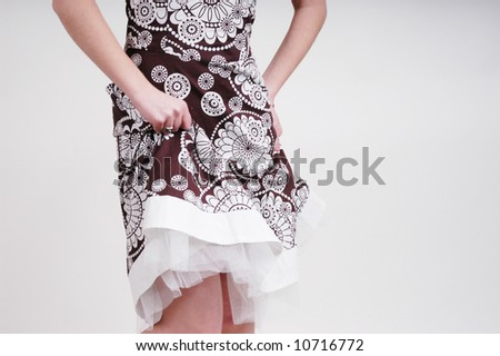 Fashion Shot of Woman's Dress