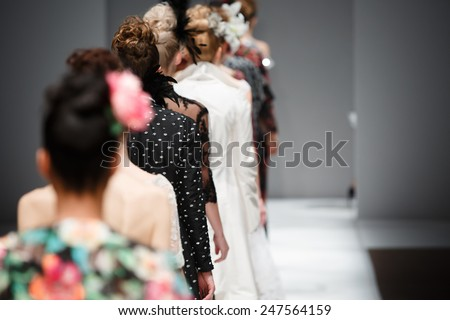Fashion show - stock photo
