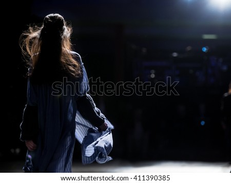 Fashion Show, A Catwalk Event, Runway Show - stock photo
