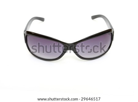 Fashion sunglasses on white