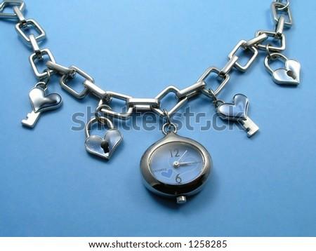 Fashion watch - stock photo