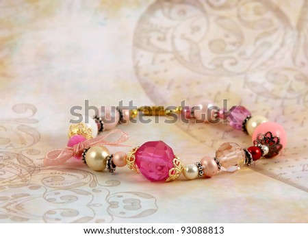 fashionable colorful bracelet