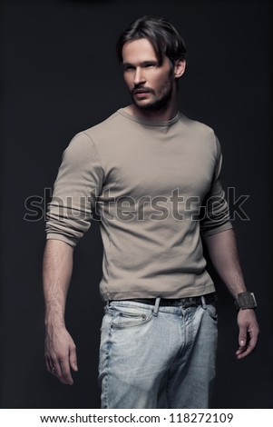 Fashionable Man - stock photo