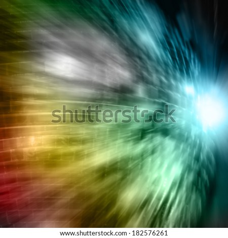 fast blur disco background  - stock photo