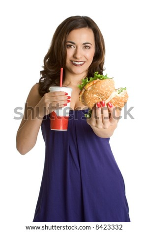 Fast Food Woman