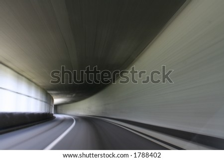 Fast Movement inside Tunnel