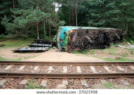 Train Crash Stock Images, Royalty-Free Images & Vectors ...