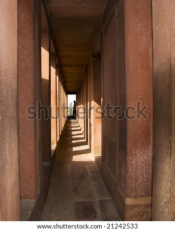 Fatehpur Sikri 1571-1585 Reign of Akbar Abandoned because of water shortage, India near Agra - stock photo