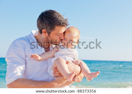 father - stock photo