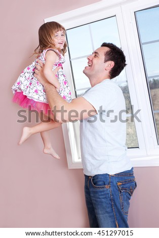 Father and daughter bonding