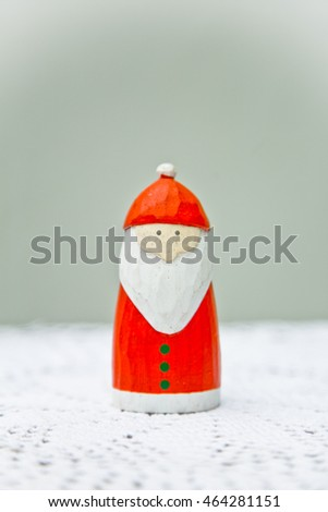 Father Christmas decoration.
