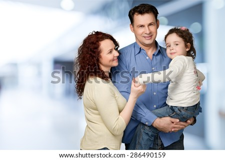 Father, day, Family. - stock photo