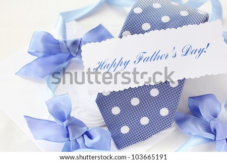 Father's day gift - stock photo