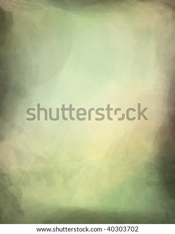 faux green marble background or paper - stock photo