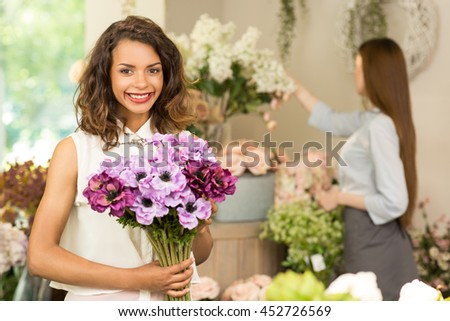 Bought a girl flowers