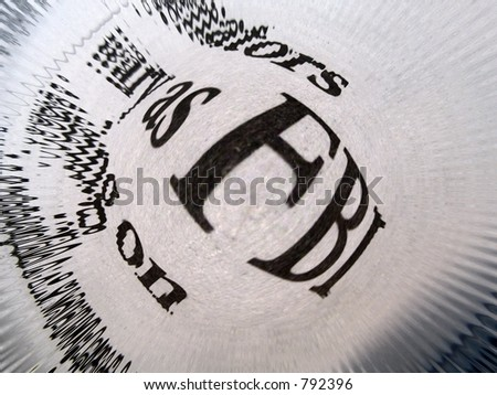 FBI - stock photo
