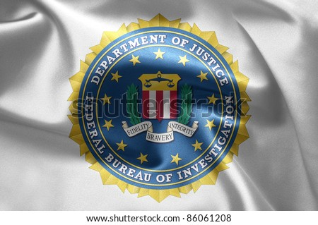 FBI in Washington DC - stock photo