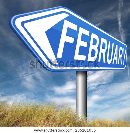 February cold next winter month schedule and calender