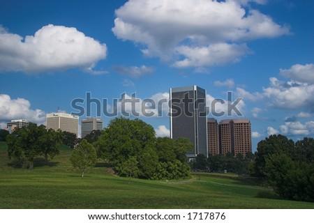 Federal Building Richmond Virginia - stock photo