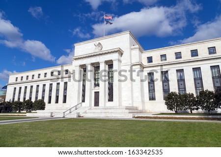 Federal Reserve Building, Washington, DC - stock photo