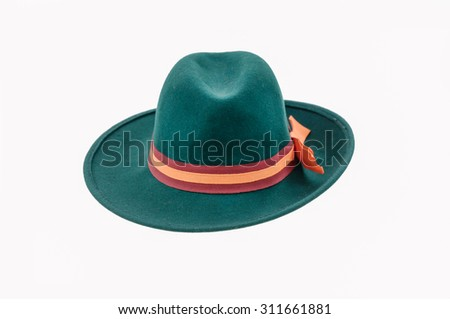 fedora hat  - stock photo