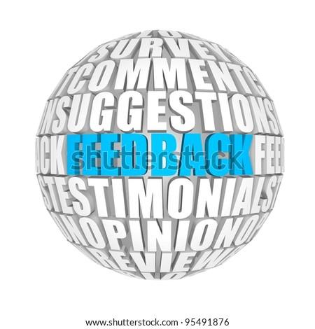 feedback - stock photo