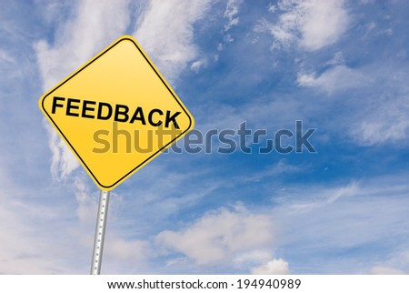 Feedback and customer experience satisfaction - stock photo