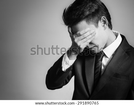 Feeling stressed out! - stock photo