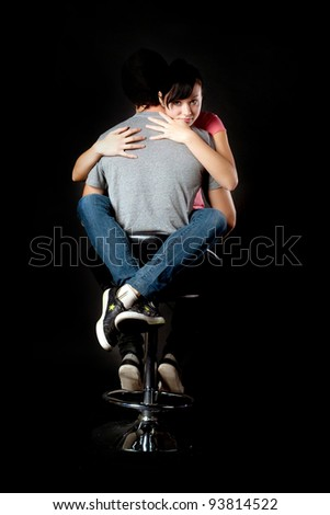 feelings - stock photo