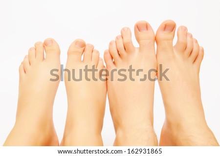 feet male - stock photo