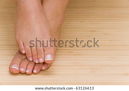 Feets - stock photo