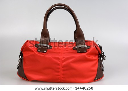Female bag isolated on a background