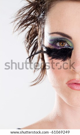 female beauty - stock photo