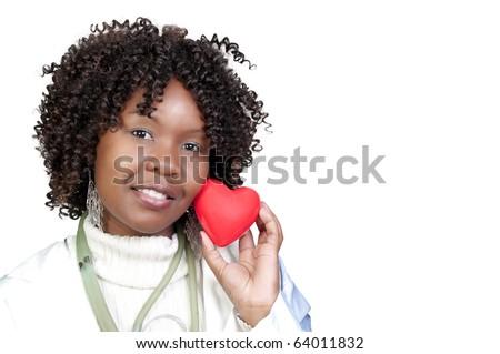 Female Cardiologist - stock photo