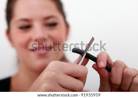 bad smell cigarette butt stock photo 3443412 shutterstock. Black Bedroom Furniture Sets. Home Design Ideas